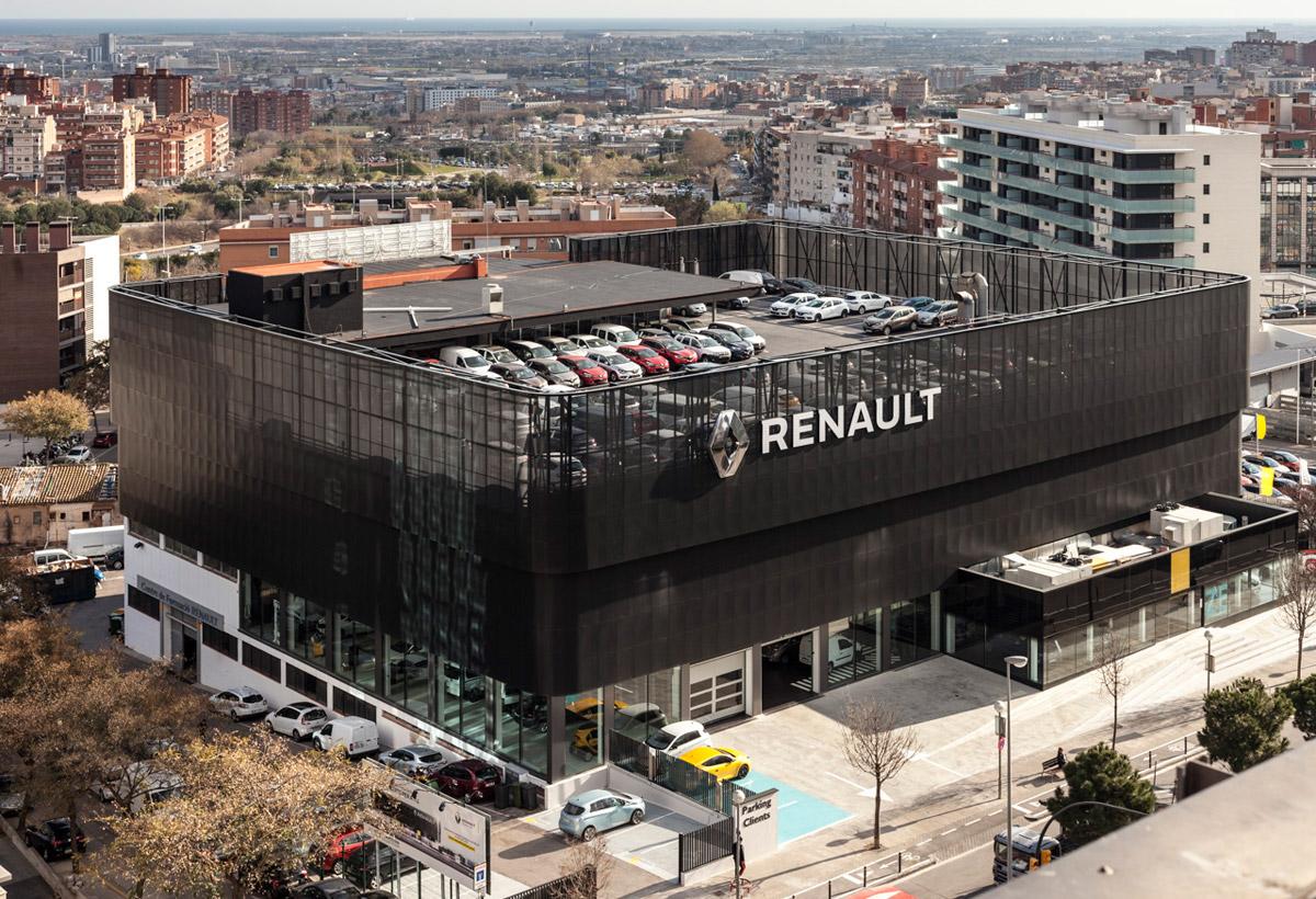 Renault esplugues - Obra nueva esplugues ...